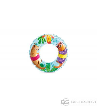 Intex Transparent Swimming Ring Random colour