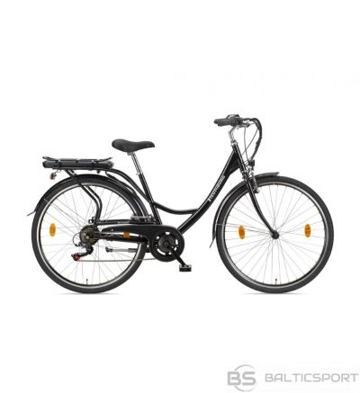 Telefunken Senne, City E-Bike, 250 W, 28 '', 24 month(s), Black