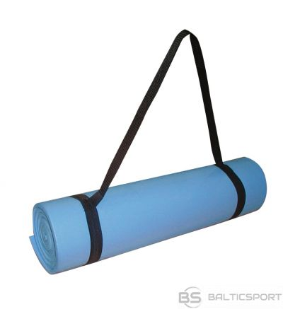 Toorx Rolled mat MAT160 160x50x0,8 light blue with carry handle