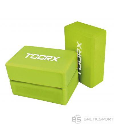 Toorx joga bloks AHF025 22,5x15x7,5cm lime green