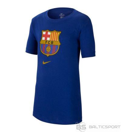 Nike FC Barcelona B NK Tee Evergreen Crest CD3199 455 / XS (122-128cm) / Zila