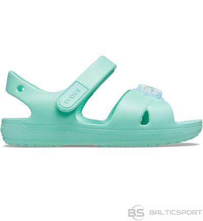 Crocs sandales bērniem Classic Cross Strap Charm Mietowe 206947 3U3 / 25-26