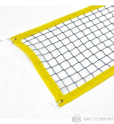 Pludmales volejbola tīkls  8500 mm - 50mm perimetrs - 4mm