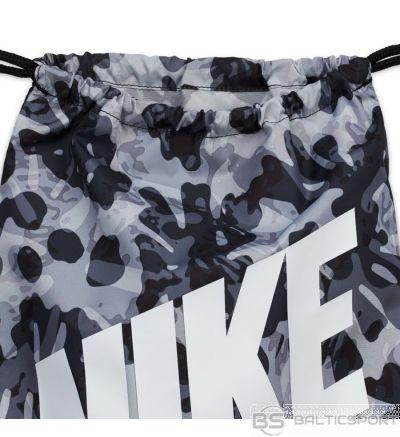 Nike bērnu drukāts sporta maiss CU8339 010 / Melna /