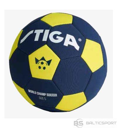 STIGA neoprēna futbola bumba WORLD CHAMPS