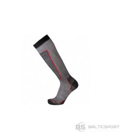 Mico Basic Ski Sock IN PP / Pelēka / Zaļa / 35-37