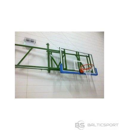 Salokāma basketbol sienas konstrukcijas -projekcija 1,7-2,25 m