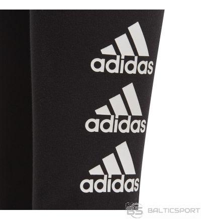 Legingi adidas JG MH BOS FL1802 / 128 cm / Melna