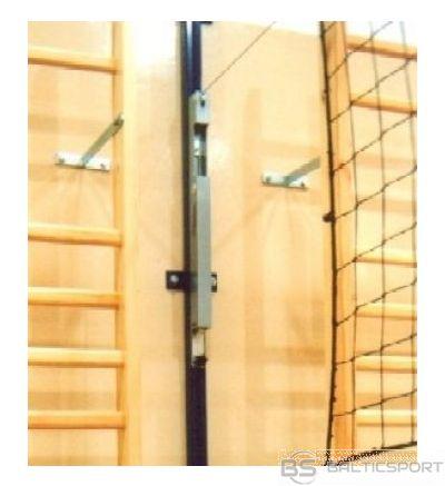 Volejbola stabi, statīvi stiprināmi pie sienas
