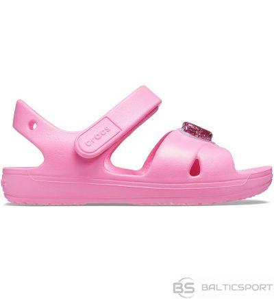 Crocs sandales bērniem Classic Cross siksna šarmu rozā 206947 669 / 29-30