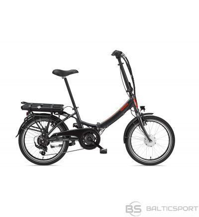 Telefunken Kompakt F810, Folding E-Bike, 250 W, 20 '', 24 month(s), Anthracite