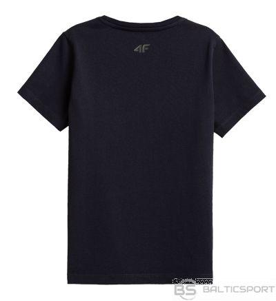 T-krekls 4F HJZ21-JTSM002B 31s / Jūras zila / 128 cm