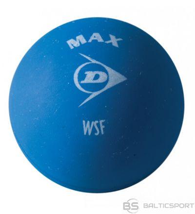 Tenisa Bumbiņa / Squash ball Dunlop MAX 1 blue dot 12-box box