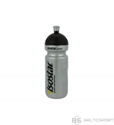Isostar 650 ml / 650 ml / sudraba ūdens pudele