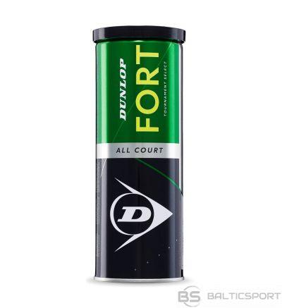 Tennis balls Dunlop FORT ALL COURT 3-tin