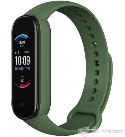 Fitnesa aproce Amazefit band 5 Fitness tracker - olive - pulss, skābekļa līm.