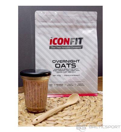 ICONFIT Pilngraudu auzu putra 700g (dažādas garšas) Overnight Oats