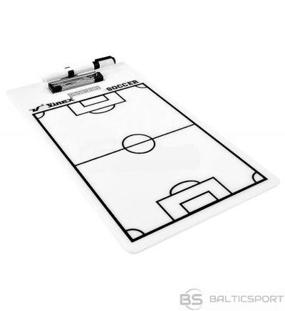 Taktiskā futbola mape, planšete -  23 x 40 cm.