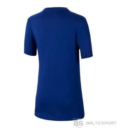 Nike FC Barcelona B NK Tee Evergreen Crest CD3199 455 / M (137-147cm) / Zila