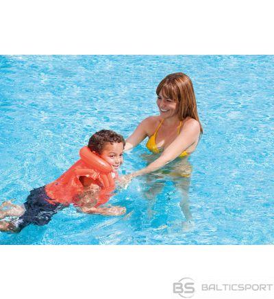 Intex deluxe peldēšanas veste bērniem / swim vest 50 x 47 cm, 3-6 gadi ( 18-30kg)