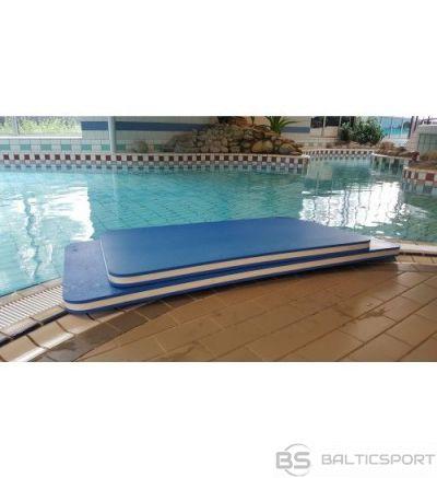 Izturīgs peldēšanas plosts baseinam - 150 x 95 x 6,0cm