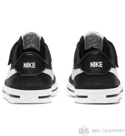Apavi Nike Court Legacy Little Bērnu kurpes DA5381 002 / Melna / 32
