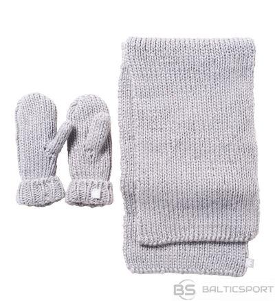 Adidas Originals OSFW AY9042 šalle + cimdi / Pelēka / one size