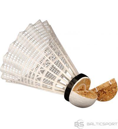 Schreuderssport Badminton shuttles AVENTO 65SD 3pcs White/Black