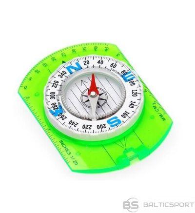 Meteor Kompass ar lineālu, baltu ciparnīcu /  /
