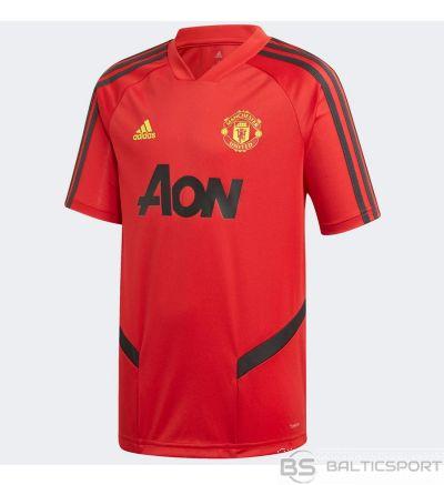 T-krekls Adidas Manchester United FC TR JSY Y DX9028 / Sarkana / 164 cm