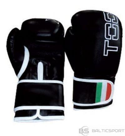 Boxing gloves TOORX LEOPARD BOT-003 12oz black eco leather