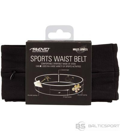 Schreuderssport Sports Belt AVENTO 21PR M Black/Silver