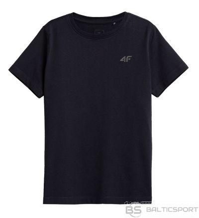 T-krekls 4F HJZ21-JTSM002B 31s / Jūras zila / 140 cm
