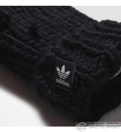 Adidas Originals OSFM AY9041 šalle + cimdi / Melna / one size (IR VEIKALĀ)