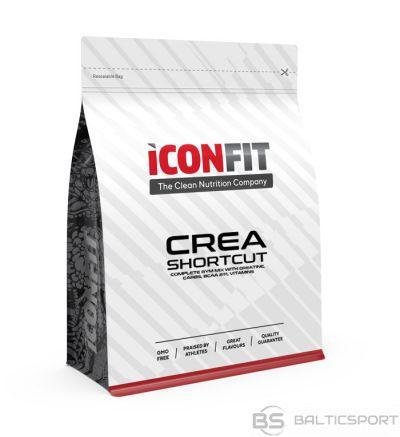 ICONFIT CREA Shortcut (kreatīns, BCAA, enerģija) 1kg dažādas garšas