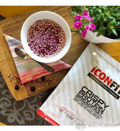 ICONFIT Proteīna brokastis (500g / 10 ēdienreizes) Crispy Protein Breakfast