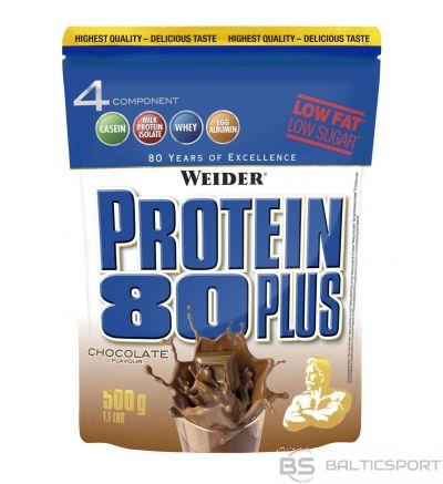 Weider Protein 80 Plus - Šokolādes / 500 g