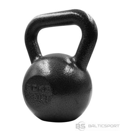Metāla Svaru Bumba / PROIRON PRKHKB20K Kettlebell Weight, 1 pc, 20 kg, Black, Cast Iron