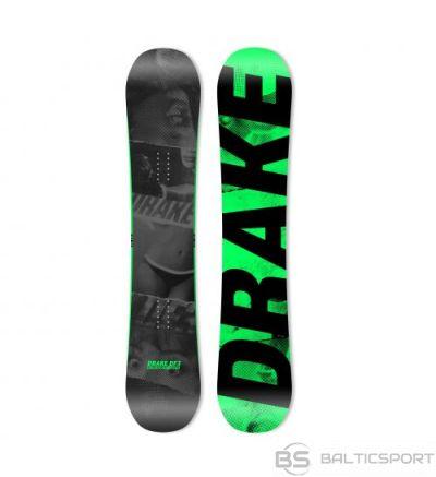 Drake DF3 / Melna / Zila / 155 cm