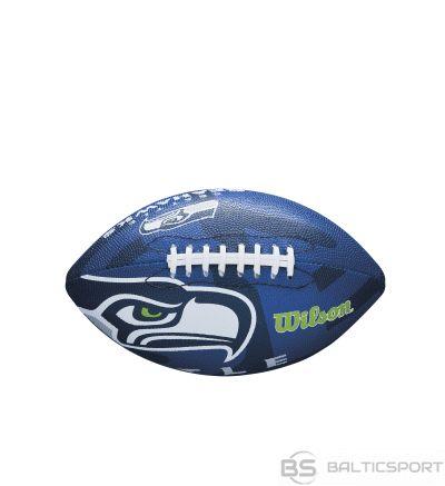WILSON amerikāņu futbola NFL TEAM LOGO SEATTLE SEAHAWKS  Junior