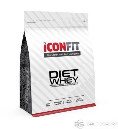ICONFIT Diet WHEY 1KG  Sūkalu olbaltumvielu proteīns (dažādas garšas)
