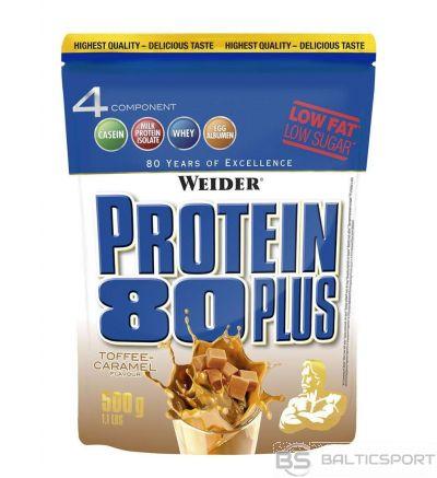 Weider Protein 80 Plus - Karameļu / 500 g