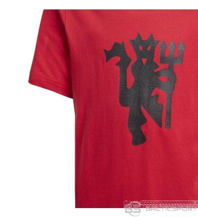 Adidas Manchester United GR Tee FR3837 / Sarkana / 128 cm