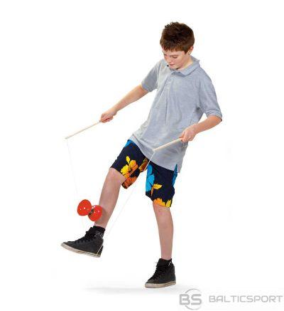 Jojo spēle Diabolo Lielizmēra jojo spēle, 10cm diametrs