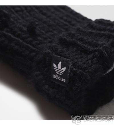 Adidas Originals OSFM AY9041 šalle + cimdi / Melna / one size