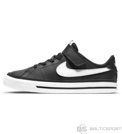 Apavi Nike Court Legacy Little Bērnu kurpes DA5381 002 / Melna / 31 1/2