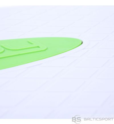 Spokey BASIC IV Two-stage Step, 67 x 27 cm, 100 kg, White/Green