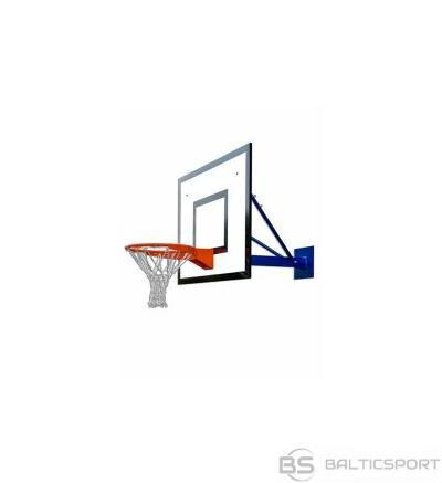 Pie sienas stiprināma basketbola konstrukcija