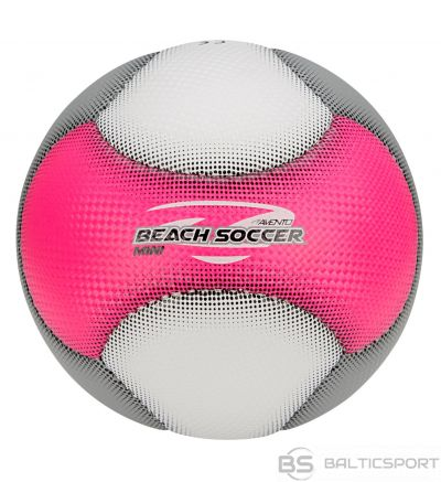 Schreuderssport Mini Beach Football AVENTO 16WH size2 Pink/White/Grey