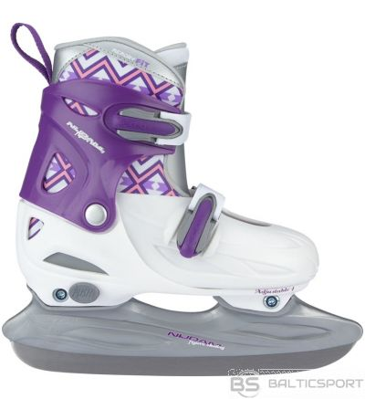 Regulējama izmēra slidas Nijdam 34-37 / adjustable ice skates Nijdam
